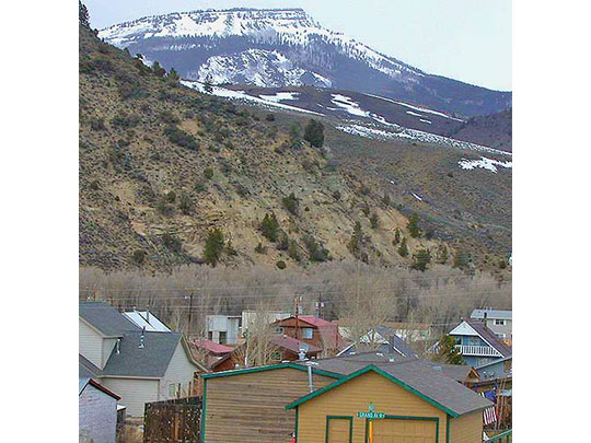 Hot Sulphur Springs Town Photo