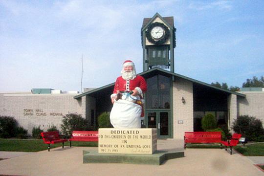 Santa Claus Town Photo