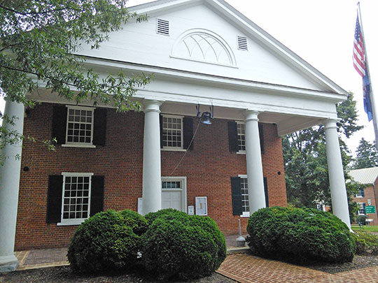 Town of Charlotte Courthouse Photo